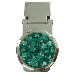 Star Seamless Tile Background Abstract Money Clip Watches