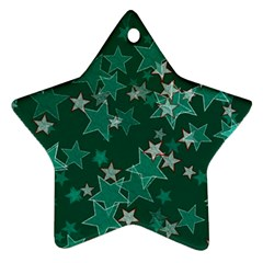 Star Seamless Tile Background Abstract Star Ornament (two Sides)