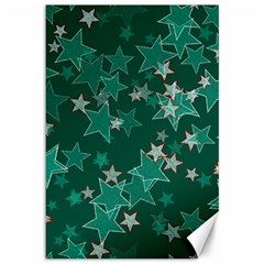 Star Seamless Tile Background Abstract Canvas 12  X 18