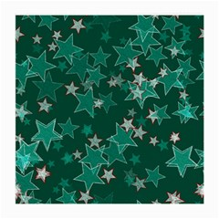Star Seamless Tile Background Abstract Medium Glasses Cloth (2-Side)