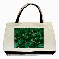 Star Seamless Tile Background Abstract Basic Tote Bag (two Sides)