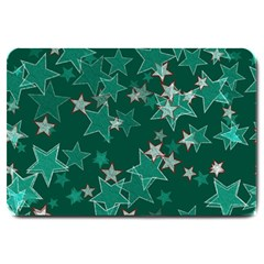 Star Seamless Tile Background Abstract Large Doormat
