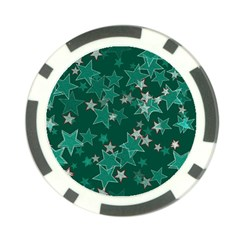 Star Seamless Tile Background Abstract Poker Chip Card Guard