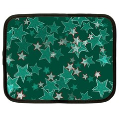 Star Seamless Tile Background Abstract Netbook Case (large)