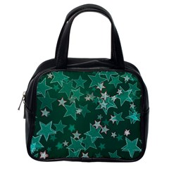 Star Seamless Tile Background Abstract Classic Handbags (one Side)