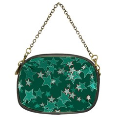 Star Seamless Tile Background Abstract Chain Purses (two Sides)