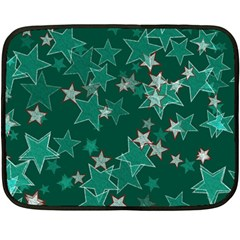 Star Seamless Tile Background Abstract Double Sided Fleece Blanket (Mini)
