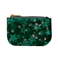 Star Seamless Tile Background Abstract Mini Coin Purses