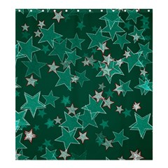 Star Seamless Tile Background Abstract Shower Curtain 66  X 72  (large)