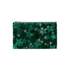 Star Seamless Tile Background Abstract Cosmetic Bag (small)