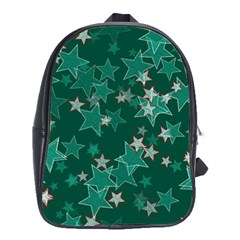 Star Seamless Tile Background Abstract School Bags(large)