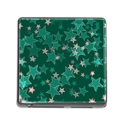 Star Seamless Tile Background Abstract Memory Card Reader (square)