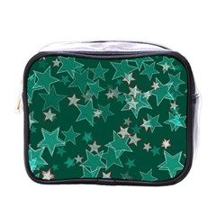 Star Seamless Tile Background Abstract Mini Toiletries Bags
