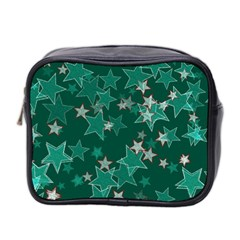 Star Seamless Tile Background Abstract Mini Toiletries Bag 2 Side