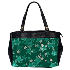 Star Seamless Tile Background Abstract Office Handbags (2 Sides)