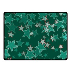 Star Seamless Tile Background Abstract Fleece Blanket (small)