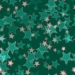 Star Seamless Tile Background Abstract Magic Photo Cubes