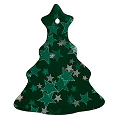 Star Seamless Tile Background Abstract Ornament (christmas Tree)