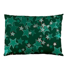Star Seamless Tile Background Abstract Pillow Case (two Sides)