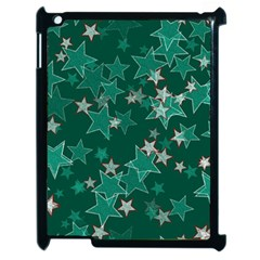 Star Seamless Tile Background Abstract Apple Ipad 2 Case (black)