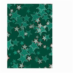 Star Seamless Tile Background Abstract Large Garden Flag (two Sides)