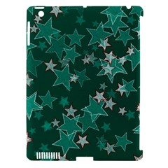 Star Seamless Tile Background Abstract Apple Ipad 3/4 Hardshell Case (compatible With Smart Cover)
