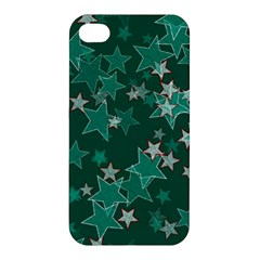 Star Seamless Tile Background Abstract Apple Iphone 4/4s Premium Hardshell Case