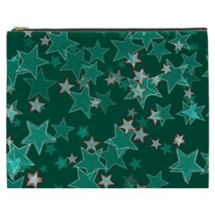 Star Seamless Tile Background Abstract Cosmetic Bag (xxxl)