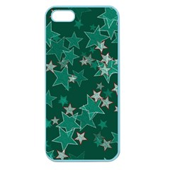Star Seamless Tile Background Abstract Apple Seamless Iphone 5 Case (color)