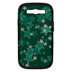 Star Seamless Tile Background Abstract Samsung Galaxy S Iii Hardshell Case (pc+silicone)