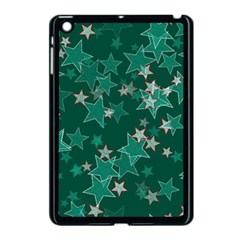 Star Seamless Tile Background Abstract Apple Ipad Mini Case (black)