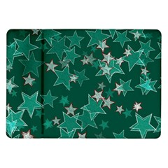 Star Seamless Tile Background Abstract Samsung Galaxy Tab 10 1  P7500 Flip Case