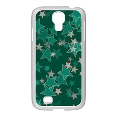 Star Seamless Tile Background Abstract Samsung Galaxy S4 I9500/ I9505 Case (white)