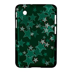 Star Seamless Tile Background Abstract Samsung Galaxy Tab 2 (7 ) P3100 Hardshell Case