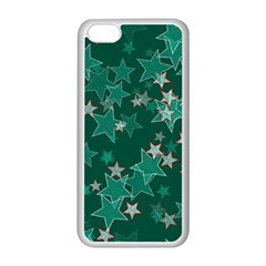 Star Seamless Tile Background Abstract Apple Iphone 5c Seamless Case (white)