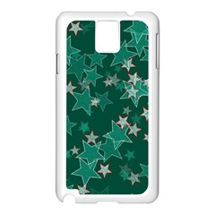 Star Seamless Tile Background Abstract Samsung Galaxy Note 3 N9005 Case (white)