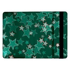 Star Seamless Tile Background Abstract Samsung Galaxy Tab Pro 12 2  Flip Case