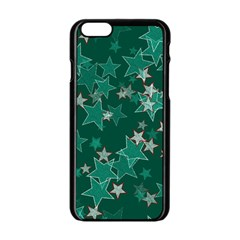 Star Seamless Tile Background Abstract Apple Iphone 6/6s Black Enamel Case