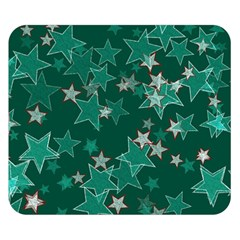 Star Seamless Tile Background Abstract Double Sided Flano Blanket (small)