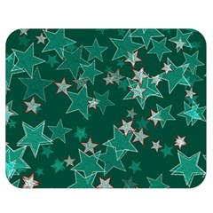 Star Seamless Tile Background Abstract Double Sided Flano Blanket (medium)