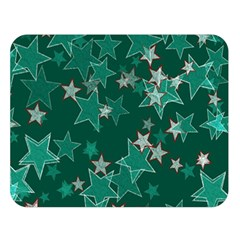 Star Seamless Tile Background Abstract Double Sided Flano Blanket (large)