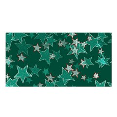Star Seamless Tile Background Abstract Satin Shawl
