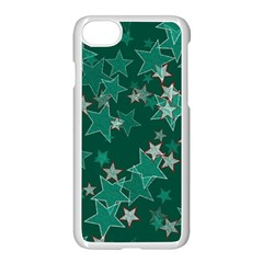 Star Seamless Tile Background Abstract Apple Iphone 7 Seamless Case (white)
