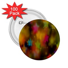 Star Background Texture Pattern 2 25  Buttons (100 Pack)