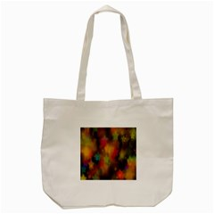 Star Background Texture Pattern Tote Bag (cream)