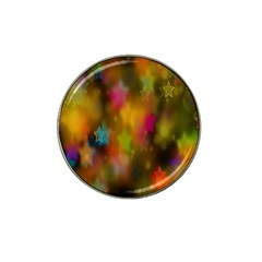 Star Background Texture Pattern Hat Clip Ball Marker (10 Pack)