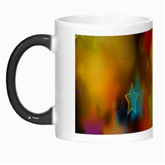 Star Background Texture Pattern Morph Mugs