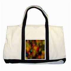 Star Background Texture Pattern Two Tone Tote Bag