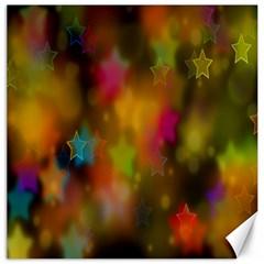 Star Background Texture Pattern Canvas 16  X 16