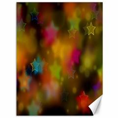 Star Background Texture Pattern Canvas 36  X 48